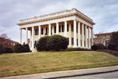 Woodruff House on campus of Mercer College, 1836 -- Macon, Ga. Elam Alexander architect