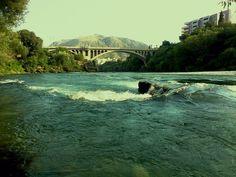 Neretva, Mostar  #love