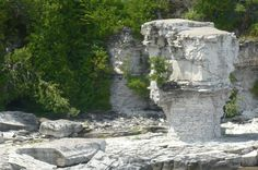 Flowerpot Island Flowerpot Island, Flower Pots, Mount Rushmore, Heaven, Mountains, Nature, Outdoor, Flower Vases, Outdoors