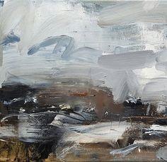 Hannah Ivory Baker 2017, study. 30x33cm on wood panel.