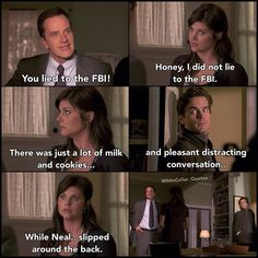 Peter and Elizabeth. White Collar Quotes.