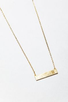 """S"" Initial Necklace"