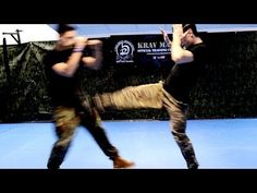 KRAV MAGA TRAINING • How to use Front Kicks in a real fight - YouTube