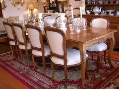 7pc Dining Room Set - Vintage John Widdicomb French Provincial ...