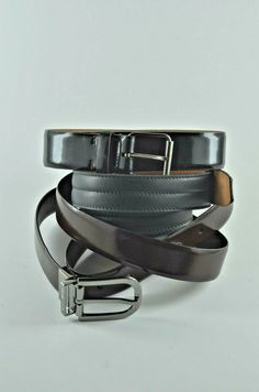 "Mens Leather Belt-Braided-48/"" long x 1/"" wide-NWOT-Brass buckle-BLACK- B7"