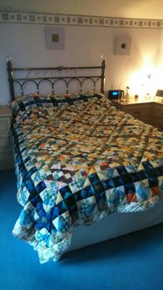 Scrap quilt Scrap, Quilts, Bed, Furniture, Home Decor, Decoration Home, Stream Bed, Room Decor, Quilt Sets