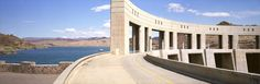 Parker Dam, near Parker, Arizona  1994, archival pigment print, 16 x 48