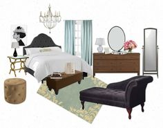 The Lovely Side: Blairs Room | Gossip Girl Decor