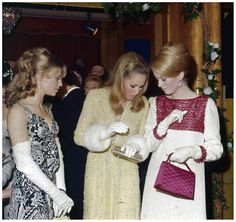 Julie Christie, Ursula Andress and Catherine Deneuve