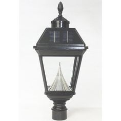 Gamasonic GS-97SG Acorn Finial Imperial Solar Lamp Post by Gamasonic. $212.17. GS-97SG Pole: With Pole Features: -Solar post lantern head with acorn finial.-Automatically turns on at dusk and off dawn.-Manual high and low light brightness switch.-Eight super bright white LED bulbs.-Beautiful beveled glass.-Patented cone reflector technology to create brightest light possible.-Solar lanterns have durable and rust resistant frame.-Fits over existing 3'' pole.-Classic gas lamp...