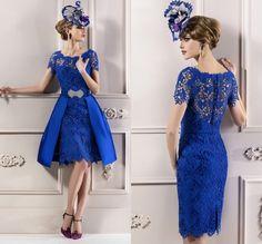 Royal Blue Semi Formal Dresses Short