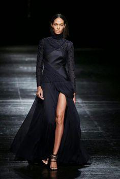 Black layered sparkle