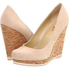 #nude wedges