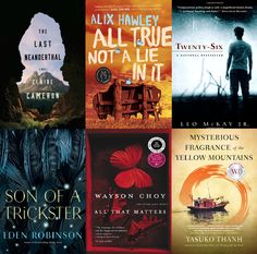 Sold to Laura Gachko of Audible by Denise Bukowski of The Bukowski Agency. Claire Cameron's THE LAST NEANDERTHAL (Canada and the UK); Alix Hawley's ALL TRUE NOT A LIE IN IT (Canada and the UK); Leo McKay Jr.'s TWENTY-SIX (World English); Eden Robinson's SON OF A TRICKSTER (World English); Wayson Choy's novels THE JADE PEONY and ALL THAT MATTERS (World English), and Yasuko Thanh's novel, THE MYSTERIOUS FRAGRANCE OF THE YELLOW MOUNTAINS, and forthcoming memoir MISTAKES TO RUN WITH (World…