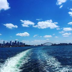 Headed back to the states today! Sad to leave Australia but ready to see familiar faces.  What an adventure!  Still many pics to go through and post but I thought this was an appropriate shot of the Sydney skyline with the opera house and harbor bridge. Took this on the Many Beach ferry yesterday afternoon.  #australia #adventure #walkabout #sydney #sydneyharbour #sydneyharbourbridge #sydneyoperahouse #visitaustralia #visitsydney #goodbye by patwdolan http://ift.tt/1NRMbNv