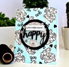 Such a Fun card created by Gayatri for the Simon Says Stamp Wednesday challenge (Anything Goes)