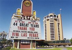 Sands Hotel just before implosion in 1996