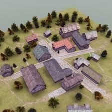 Image result for medieval village Minecraft Medieval Village, Picnic Blanket, Outdoor Blanket, Image, Picnic Quilt