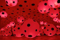 The Yayoi Kusama Installation in Norway is Hyper-Spotty #art trendhunter.com
