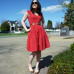 Cambie Dress - I love this so much, but it's designed for a pear shape and I am... not. but I want it!