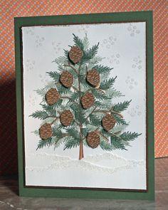 DeNami Winter Evergreen card