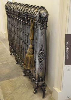 Details from history --- Antoinette Cast Iron Radiator