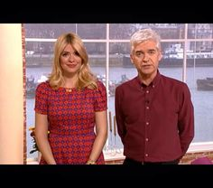 Holly Willoughby Dress by Jaeger Boutique on ITV This Morning