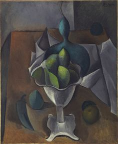 Pablo Picasso / Fruit Dish / Paris, winter 1908-09 / MoMa