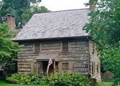 antique christmas log cabin in black & white - Google Search