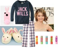 """Lazy Day with my Besties"" by rachel-starr-johnston on Polyvore"