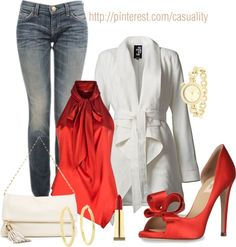 """""""Red Sexy Silk Halter Top"""" by casuality on Polyvore"""