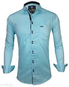 Checkout this latest Shirts Product Name: *Trendy Men's Cotton Shirt* Fabric: Cotton Sleeve Length: Long Sleeves Pattern: Solid Multipack: 1 Sizes: S, M, L, XL, XXL Country of Origin: India Easy Returns Available In Case Of Any Issue   Catalog Rating: ★4 (476)  Catalog Name: Elegant Mens Cotton Shirts Vol 10 CatalogID_137238 C70-SC1206 Code: 084-1113195-2121