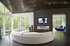 Mannington Custom Homes Show Home | Charisma, the design experience - Interior Design in Winnipeg