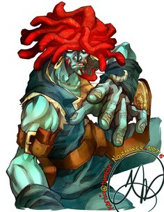 Final Fantasy IX: Salamander / Amarant by karniz.deviantart.com on @DeviantArt