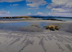 Low Tide, Lon Liath Looking towards Skye
