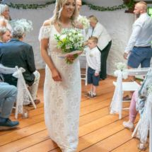 A wedding at the Hayloft, Courington Court, Torquay, Devon