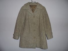 VINTAGE Winter Coat  LADIES  1970'S  Kashmoor by EmpireAntiques