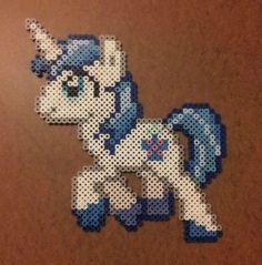 MLP Shining Armor perler beads by 0Coke