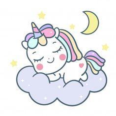Unicorn Painting, Unicorn Drawing, Baby Drawing, Unicorn Art, Cute Unicorn, Simple Cartoon, Cartoon Kids, Cartoon Drawings, Cute Drawings