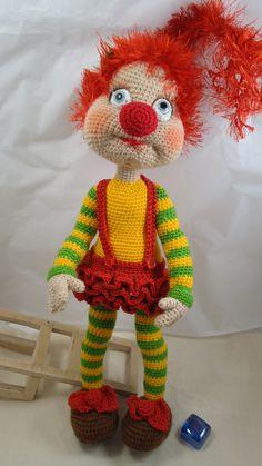 Crochet Dolls Free Patterns, Crochet Doll Pattern, Amigurumi Patterns, Amigurumi Doll, Doll Patterns, Crochet Toys, Baby Blanket Crochet, Crochet Baby, Cinderella Doll