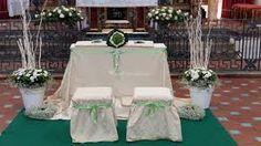Znalezione obrazy dla zapytania fiori per l'altare
