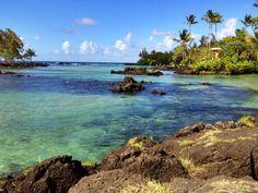 """Carlsmith Beach Park (aka """"Four Miles"""") - The Big Island, Hawaii"""