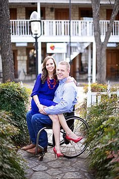 Engagement session with guy in wheelchair - Alexi Cait Photography
