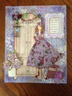 Julie Nutting/Prima Doll Stamp