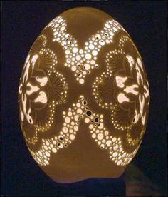 Artful Delight: ~Eieren graveren!