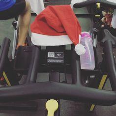 Spinning navideño en @espaiwellness  #sport #spinning #bike