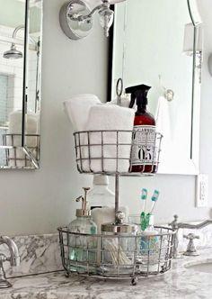 40+ Functional Small Bathroom Organization Ideas