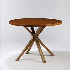 Joseph-André Motte; Wood Dining Table, 1957.