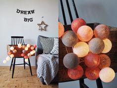 Petit Cotton Ball Lights, Pretty, Diy, Design, Home Decor, Friends, Balls, Garlands, Candle
