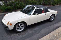 White Porsche 914